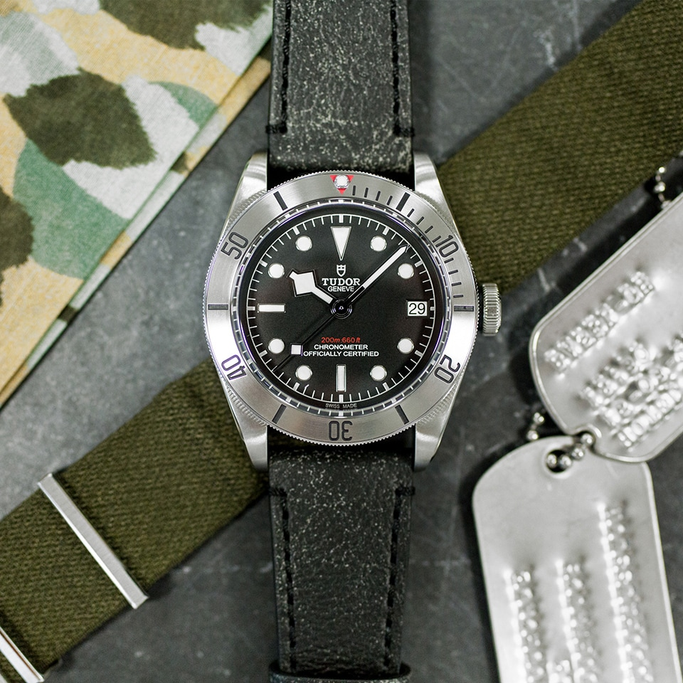 TUDOR BLACK BAY STEEL 41 MM - M79730-0005