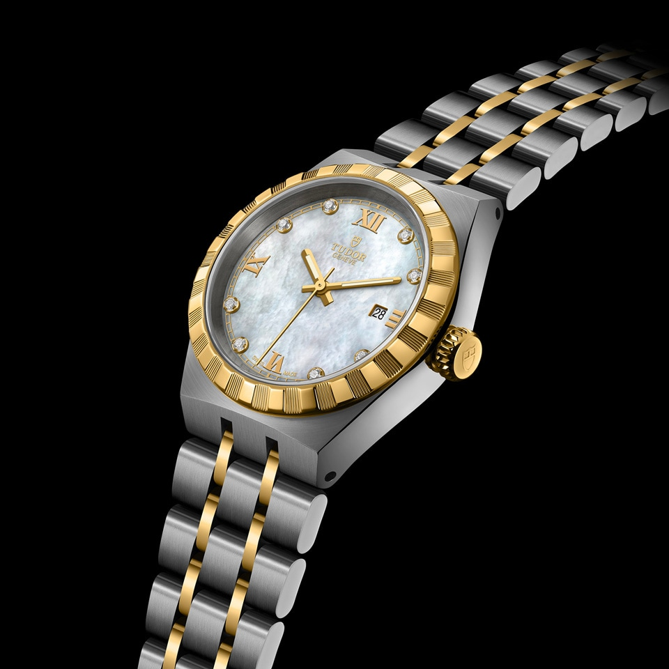 帝舵表 TUDOR ROYAL DATE  - M28303-0007