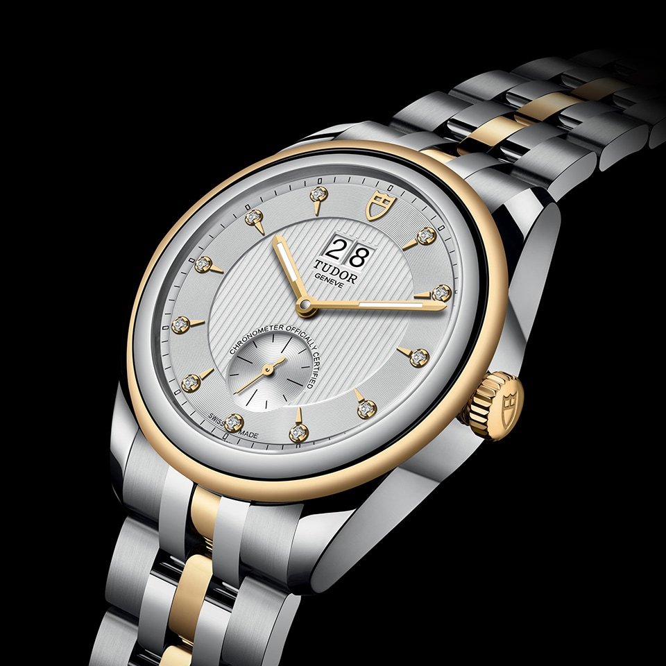 TUDOR GLAMOUR DOUBLE DATE 42 MM - M57103-0005