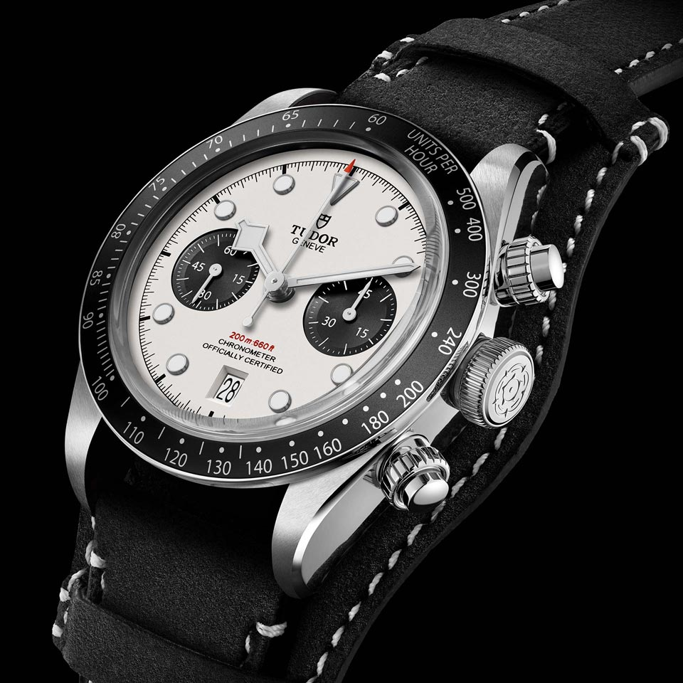 スチール製ケース TUDOR BLACK BAY CHRONO - M79360N-0006