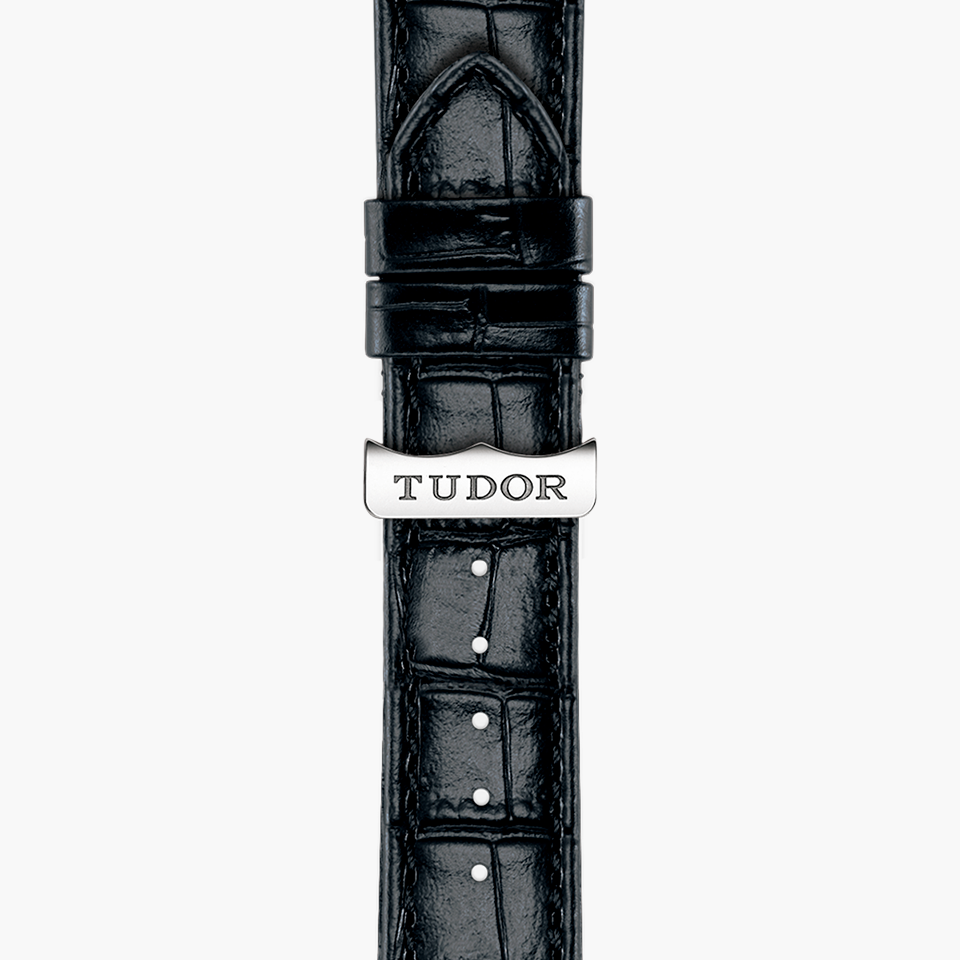 TUDOR GLAMOUR DATE WATCH-WRISTBAND - M55000-0116