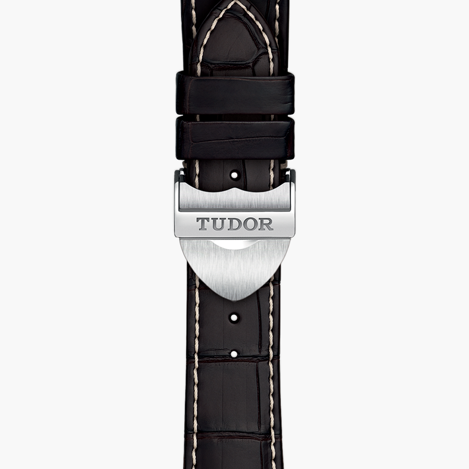 TUDOR GLAMOUR DOUBLE DATE WATCH-WRISTBAND - M57100-0016