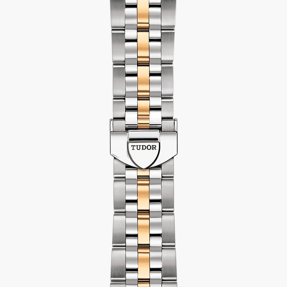 TUDOR GLAMOUR DOUBLE DATE WATCH-WRISTBAND - M57103-0002