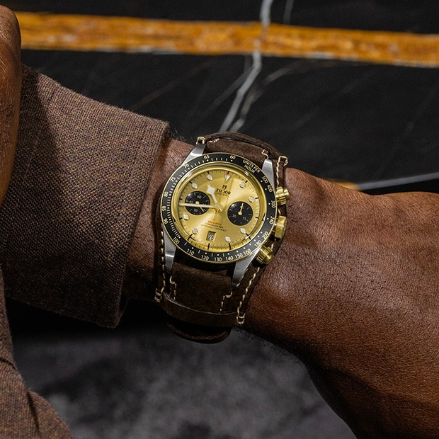 TUDOR BLACK BAY CHRONO 精神 - M79350-0003