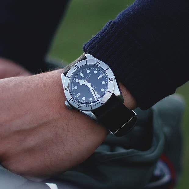 TUDOR THE SPIRIT OF BLACK BAY - WITH DATE - M79733N-0004