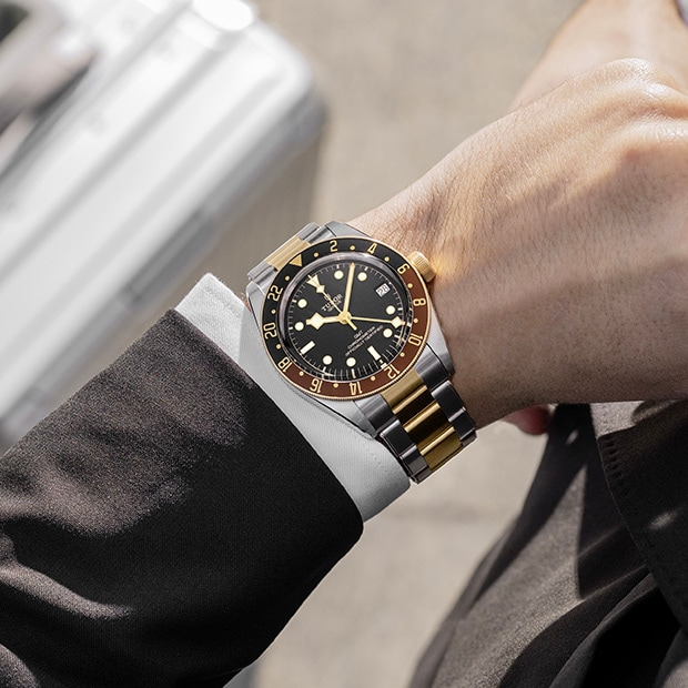 TUDOR L'ESPRIT DE LA BLACK BAY GMT - M79830RB-0003