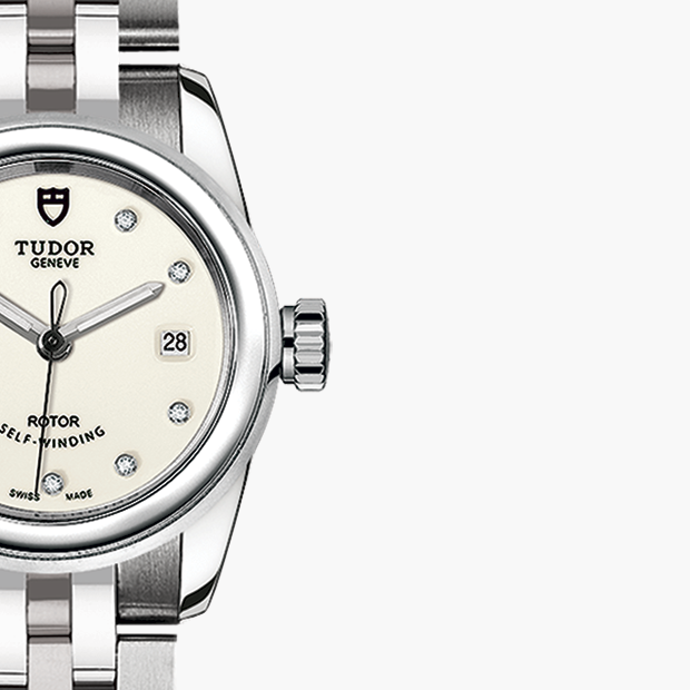 TUDOR  SET YOUR GLAMOUR DATE WATCH - M51000-0028