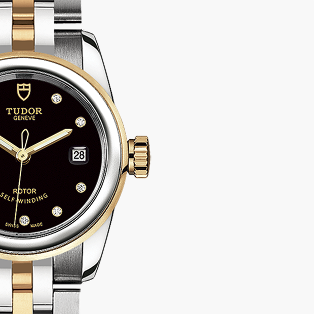 TUDOR  SET YOUR GLAMOUR DATE WATCH - M51003-0007