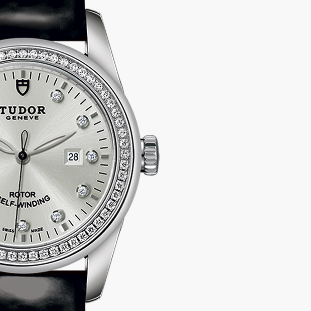 TUDOR  SET YOUR GLAMOUR DATE WATCH - M53020-0053
