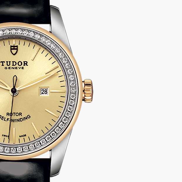 TUDOR  SET YOUR GLAMOUR DATE WATCH - M53023-0044