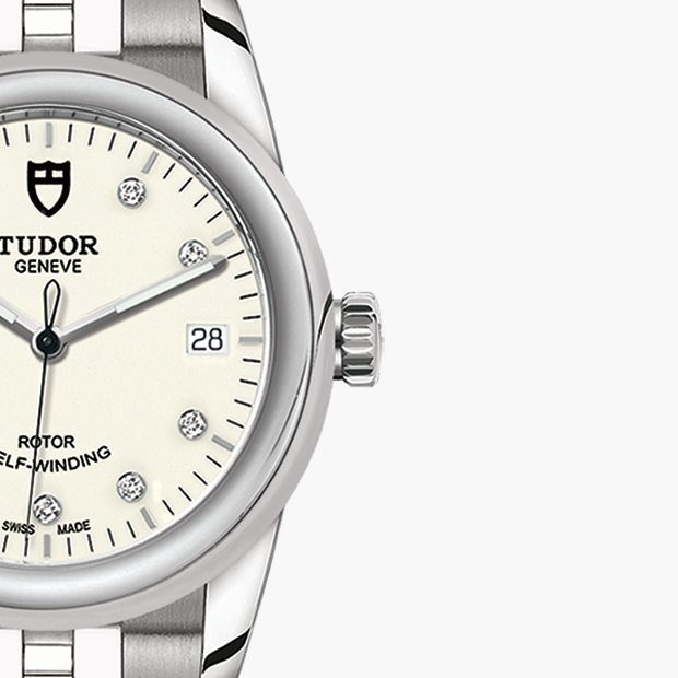 TUDOR  SET YOUR GLAMOUR DATE WATCH - M55000-0104