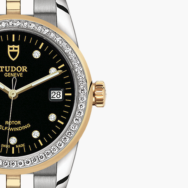 TUDOR  SET YOUR GLAMOUR DATE WATCH - M55023-0022
