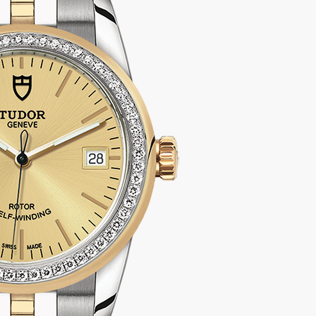 TUDOR SET YOUR GLAMOUR DATE - M55023-0025