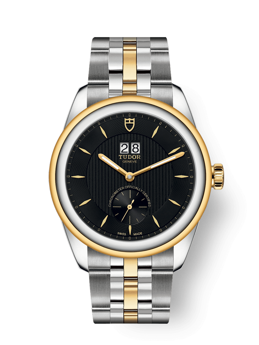 TUDOR GLAMOUR DOUBLE DATE WATCH - M57103-0002