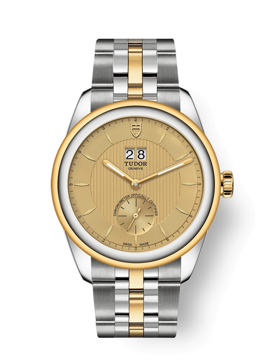 TUDOR GLAMOUR DOUBLE DATE WATCH - M57103-0003