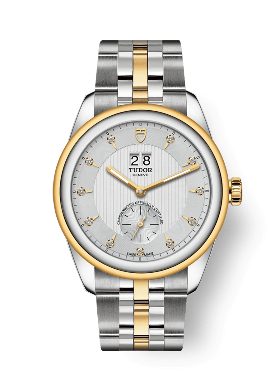 TUDOR GLAMOUR DOUBLE DATE WATCH - M57103-0005