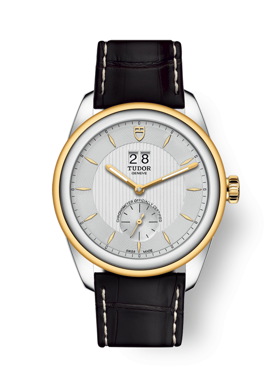 TUDOR GLAMOUR DOUBLE DATE WATCH - M57103-0019
