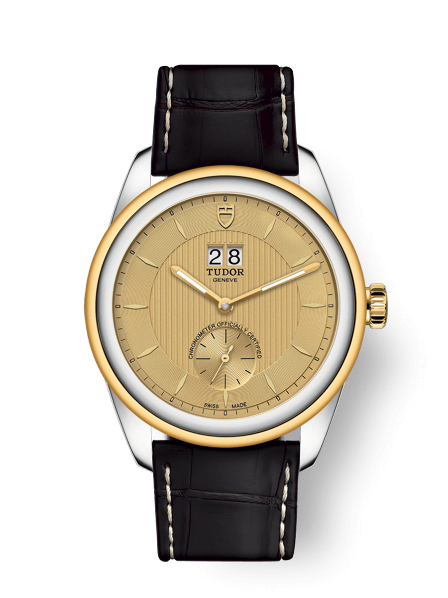 TUDOR GLAMOUR DOUBLE DATE WATCH - M57103-0021