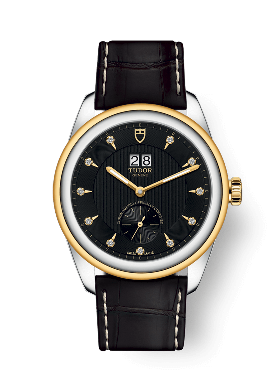 TUDOR GLAMOUR DOUBLE DATE WATCH - M57103-0022
