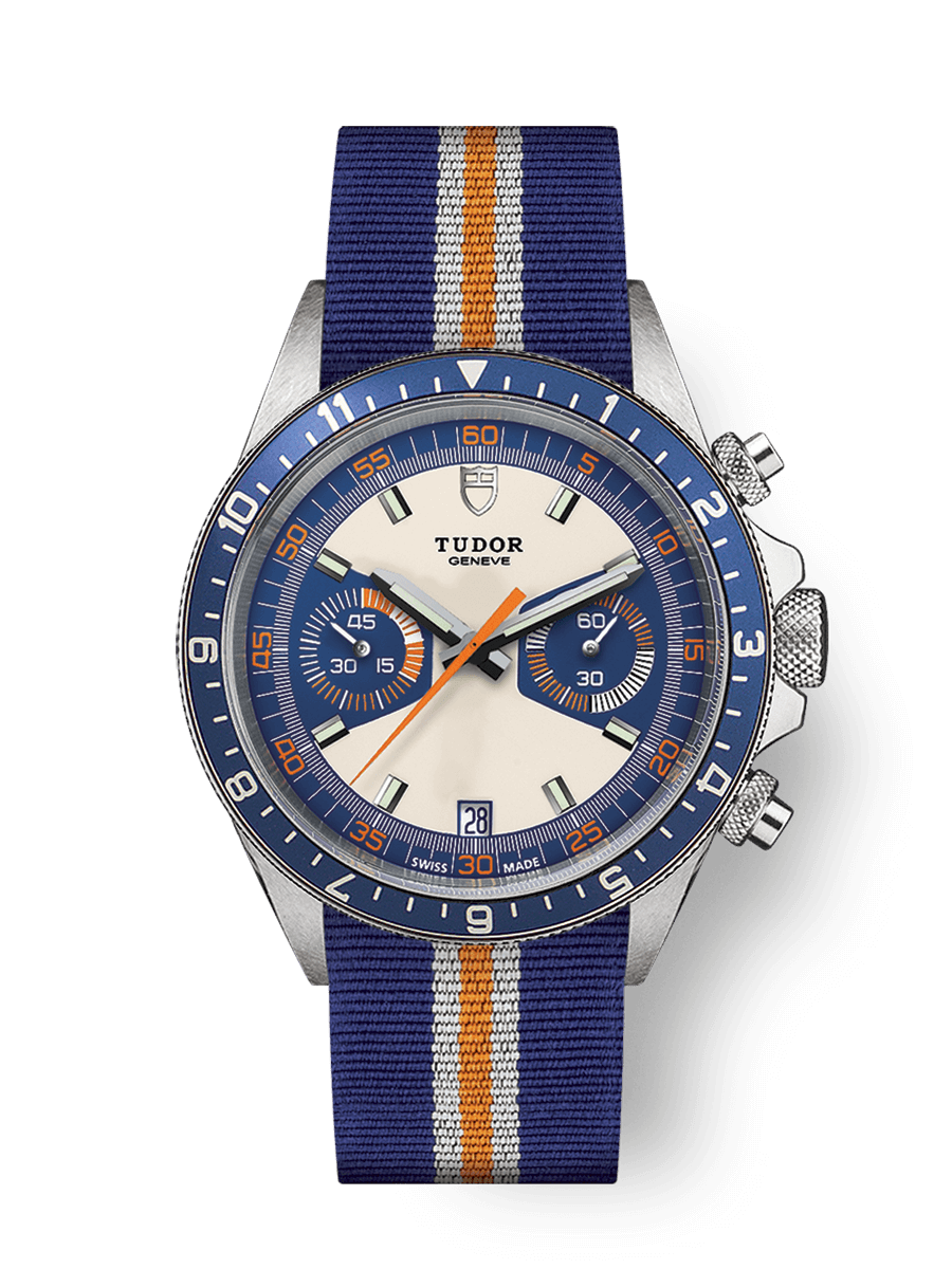 帝舵表 HERITAGE CHRONO BLUE WATCH - M70330B-0003