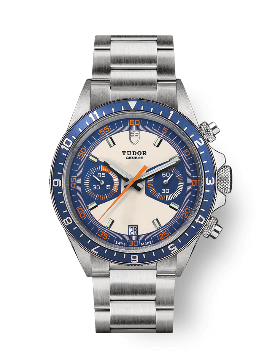 帝舵表 HERITAGE CHRONO BLUE WATCH - M70330B-0004
