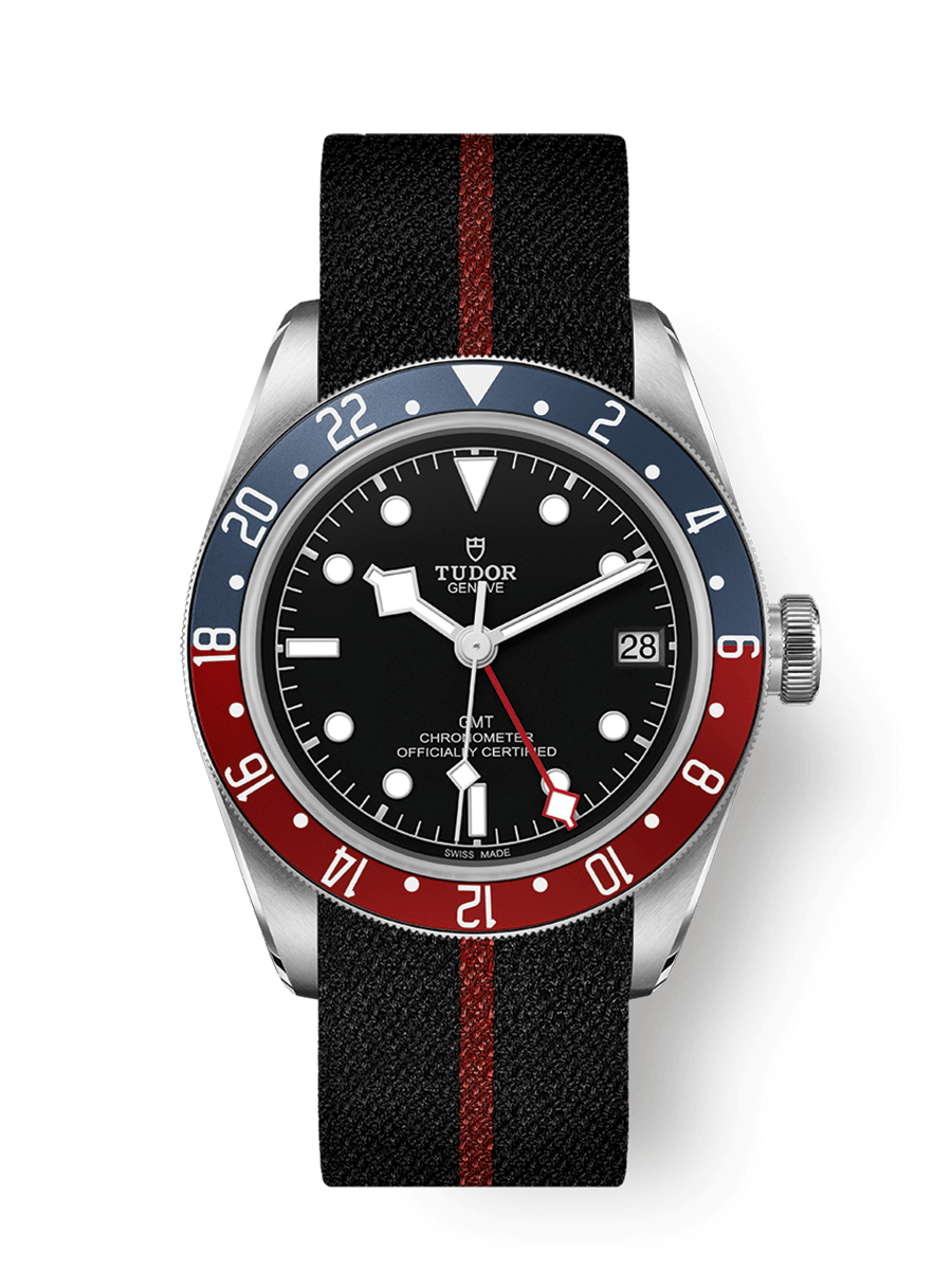 TUDOR BLACK BAY GMT WATCH - M79830RB-0003
