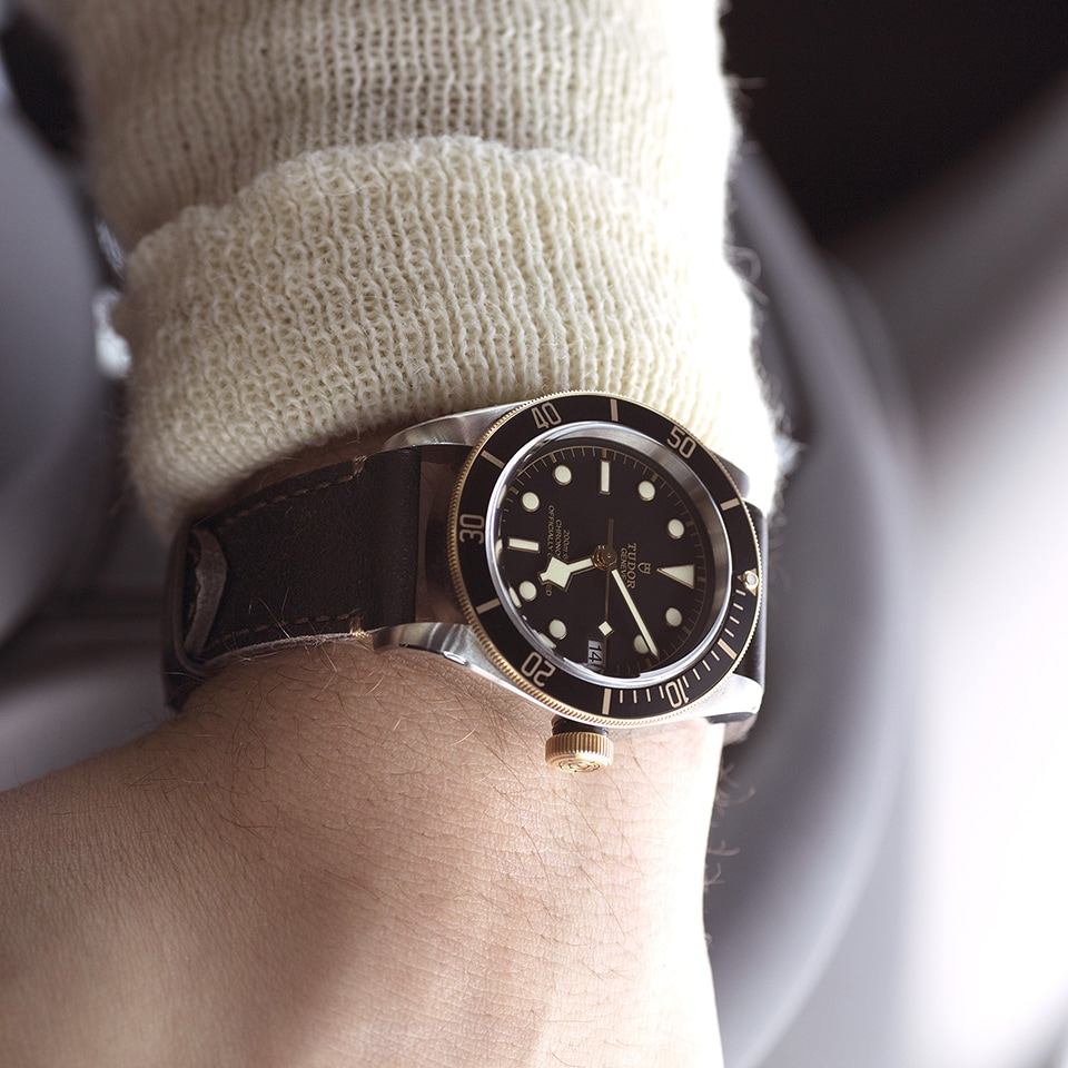 TUDOR BLACK BAY S G 41 MM - M79733N-0007