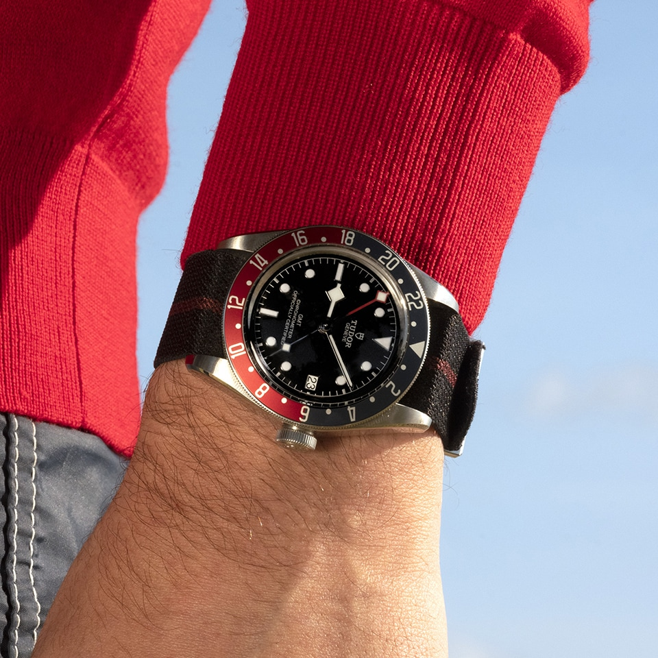 TUDOR BLACK BAY GMT 41 MM - M79830RB-0003