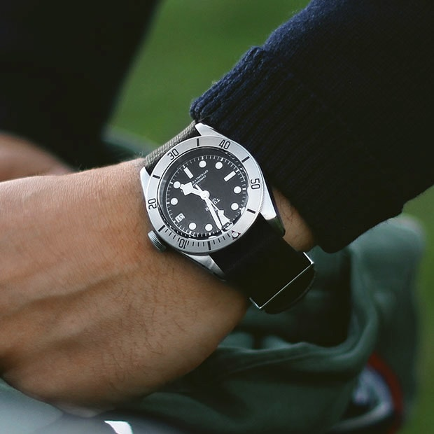 TUDOR BLACK BAY WITH DATE WATCH